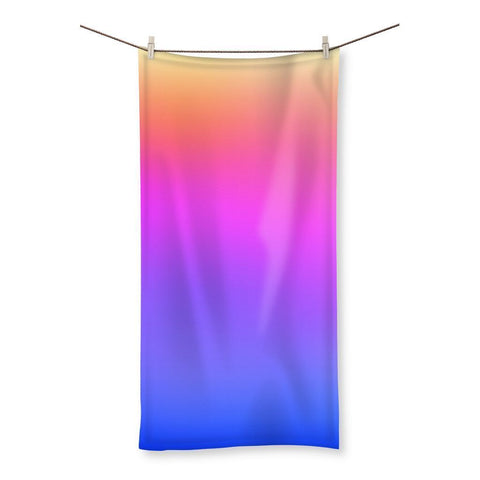 Abstract Gradient 3 Beach Towel