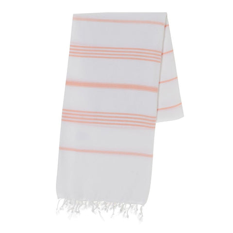 Classic Melon Stripe Turkish Towel