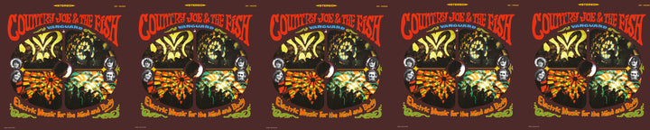 COUNTRY JOE & THE FISH <br><I>ELECTRIC MUSIC FOR THE MIND AND BODY</I>