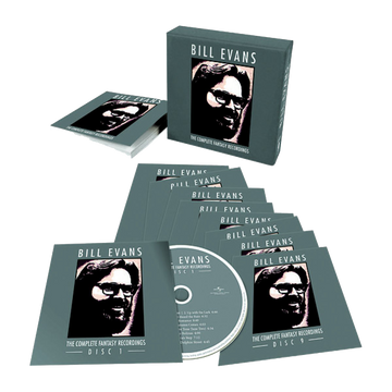 Bill Evans - The Complete Fantasy Recordings (9-CD Box Set)