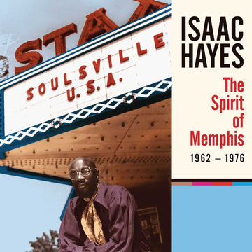 "Isaac Hayes: The Spirit of Memphis (1962-1976) (4CD + 7"" Vinyl Box Set)"