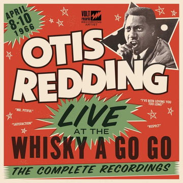 Otis Redding - Live At The Whisky A Go Go (2-LP, 180g)