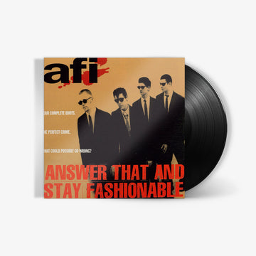 AFI - Answer That and Stay Fashionable (LP)