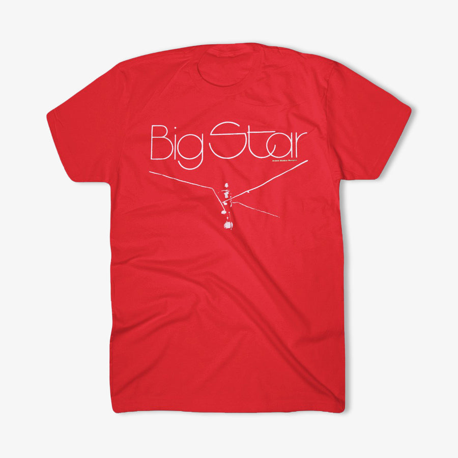 Big Star - Radio City Red T-Shirt