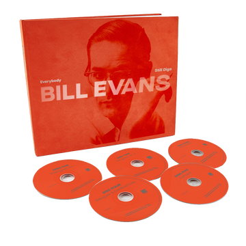 Bill Evans - Everybody Still Digs Bill Evans: A Career Retrospective (1956-1980) (5-CD Box Set)