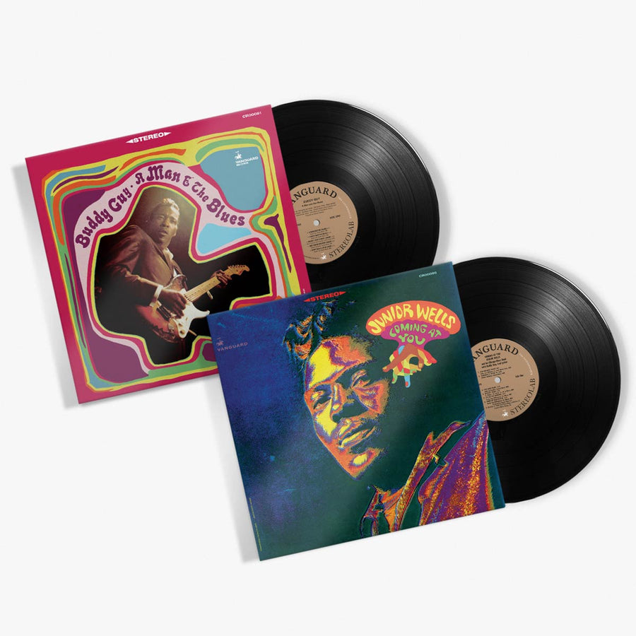 Buddy Guy & Junior Wells - Vinyl Bundle (A Man and The Blues / Coming at You)