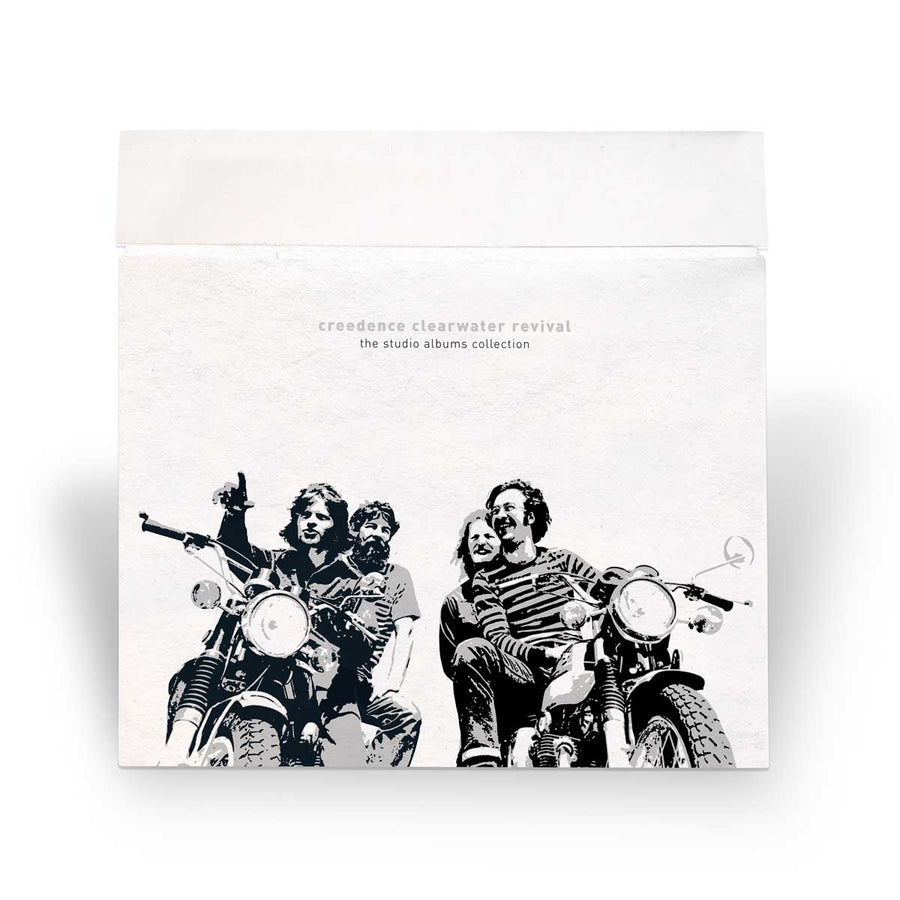 Creedence Clearwater Revival - The Studio Albums Collection (Half-Speed Masters 7-LP Box Set) With Exclusive CCR T-Shirt