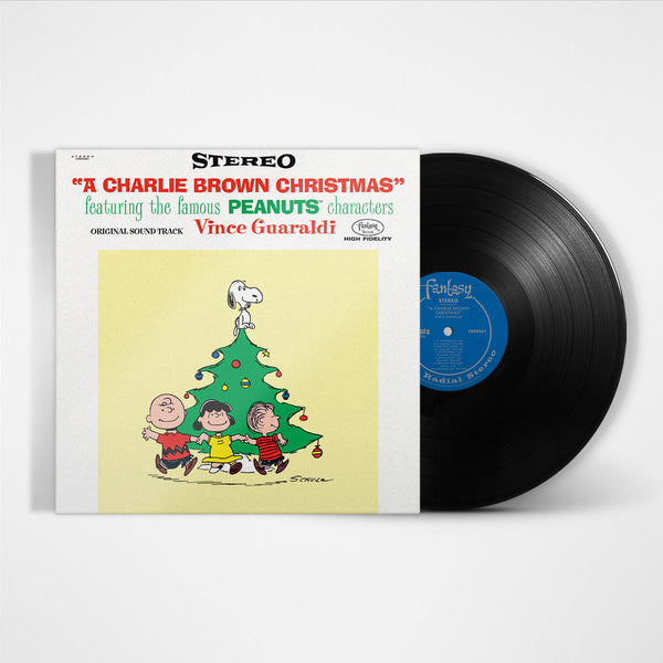 Charlie Brown Christmas Soundtrack.Vince Guaraldi Trio A Charlie Brown Christmas 180 Gram Lp