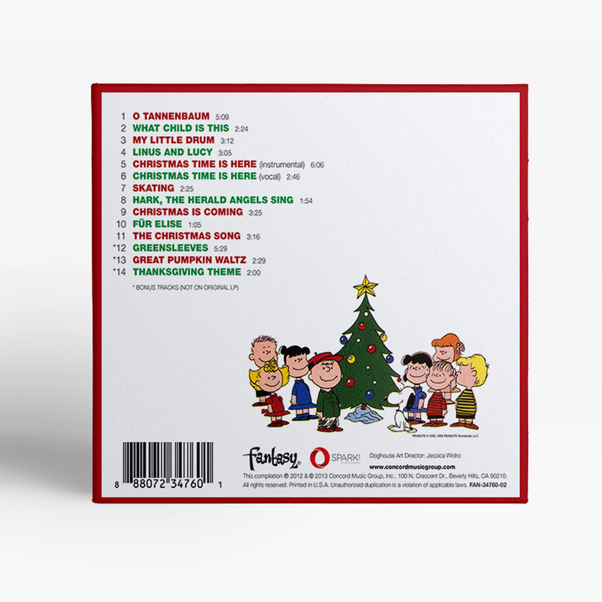 Vince Guaraldi Trio A Charlie Brown Christmas Doghouse