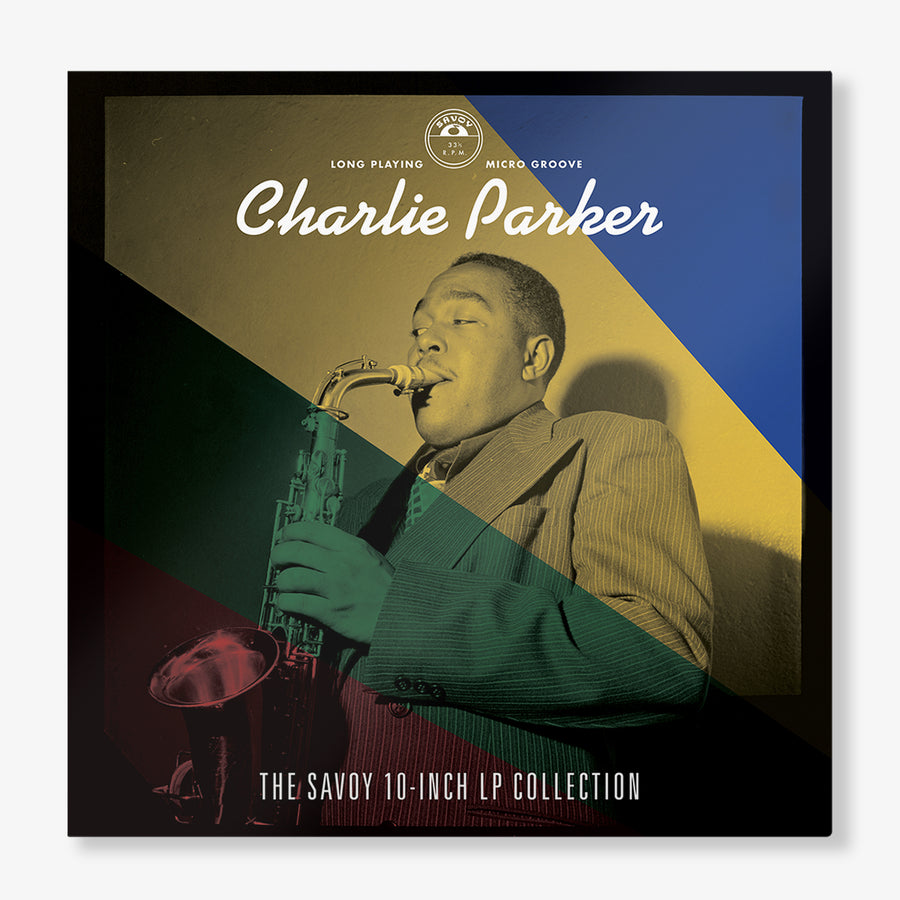 Charlie Parker - The Savoy 10-Inch LP Collection (4-LP Box Set) with Exclusive Savoy Records T-Shirt