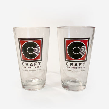 Craft Recordings Pint Glasses (Set of 2)