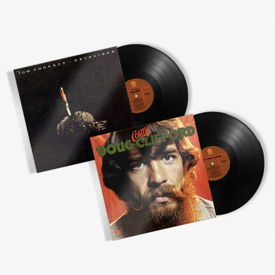 *SIGNED* Doug Clifford & Tom Fogerty - Vinyl Bundle (Doug