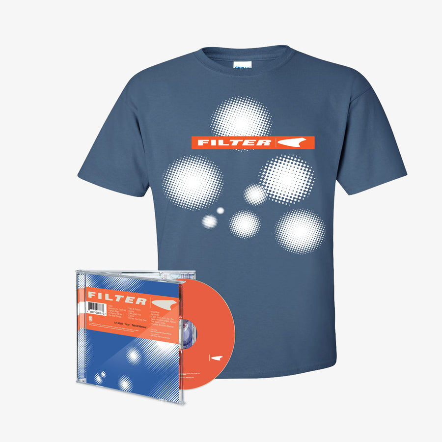 Filter - Title of Record CD + T-shirt (Exclusive Bundle)