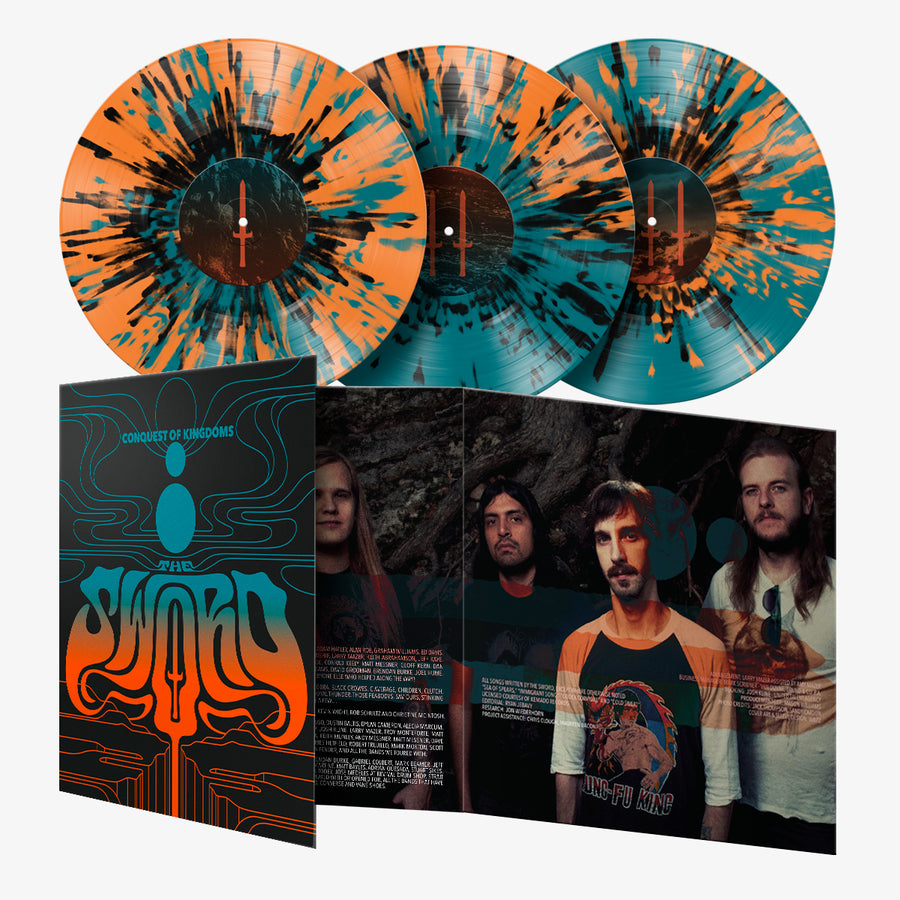 The Sword - Conquest of Kingdoms (Limited Edition Splatter 3-LP )