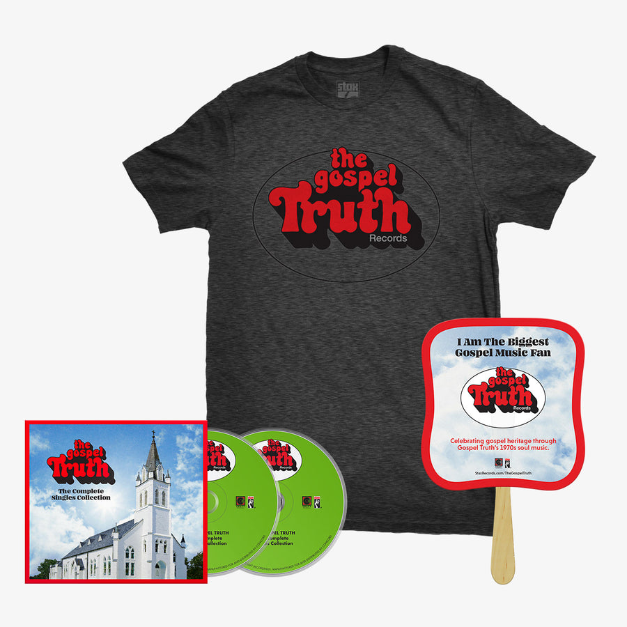 The Gospel Truth - Complete Singles Collection (2-CD) + T-Shirt + Fan Bundle