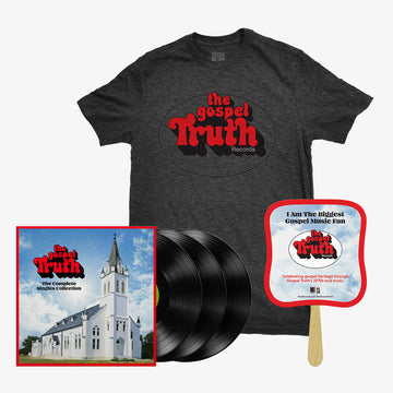 The Gospel Truth - Complete Singles Collection (3-LP) + T-Shirt + Fan Bundle