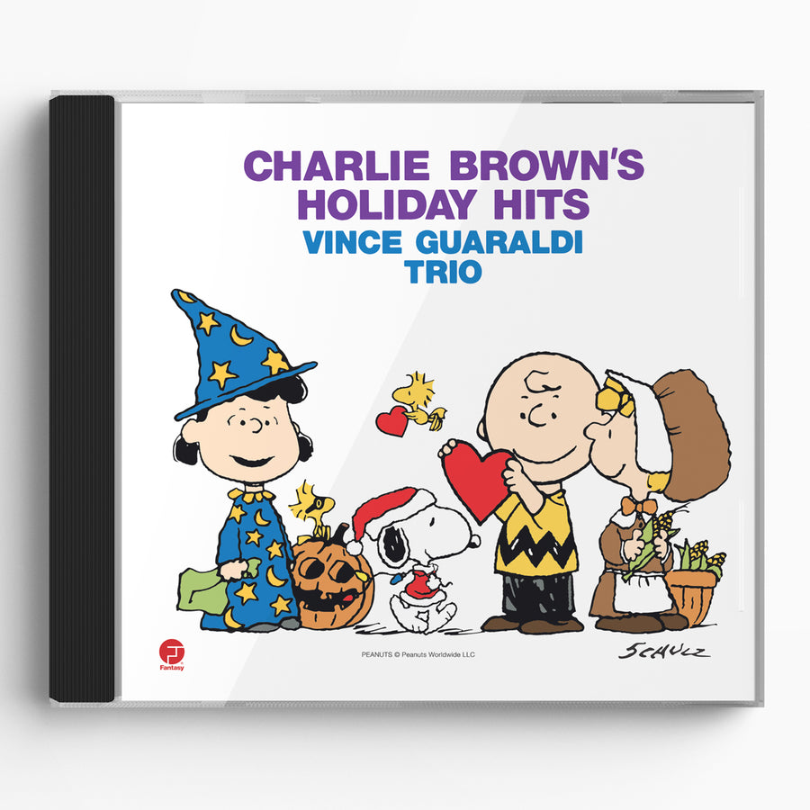 Charlie Brown's Holiday Hits (CD)