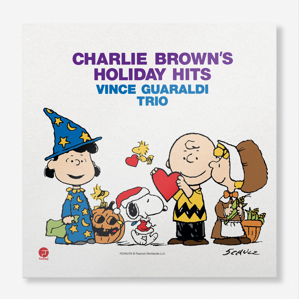 Vince Guaraldi Trio Charlie Brown S Holiday Hits Lp