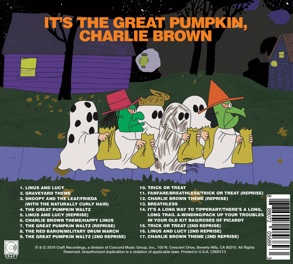 Vince Guaraldi It S The Great Pumpkin Charlie Brown