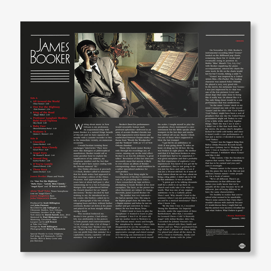 James Booker - Classified (LP)
