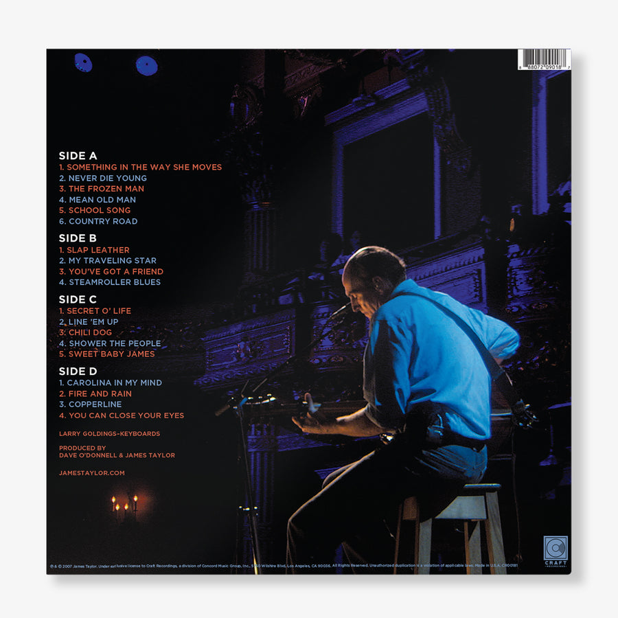 James Taylor - One Man Band (2-LP Gatefold 180-Gram Vinyl)