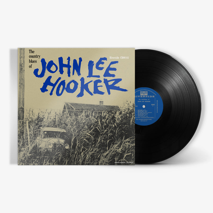 John Lee Hooker - The Country Blues of John Lee Hooker (LP)
