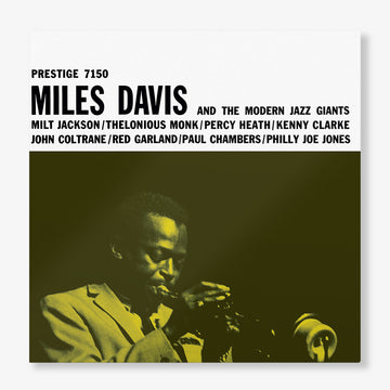 Miles Davis And The Modern Jazz Giants (LP)