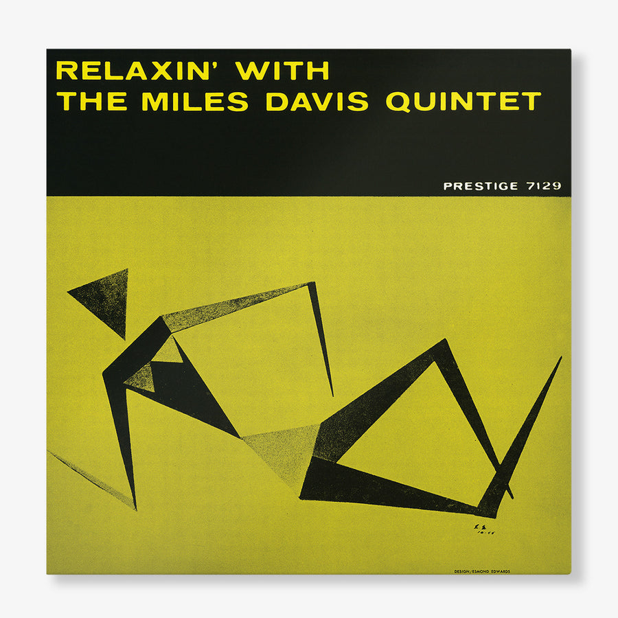 The Miles Davis Quintet - Relaxin' With The Miles Davis Quintet (LP)