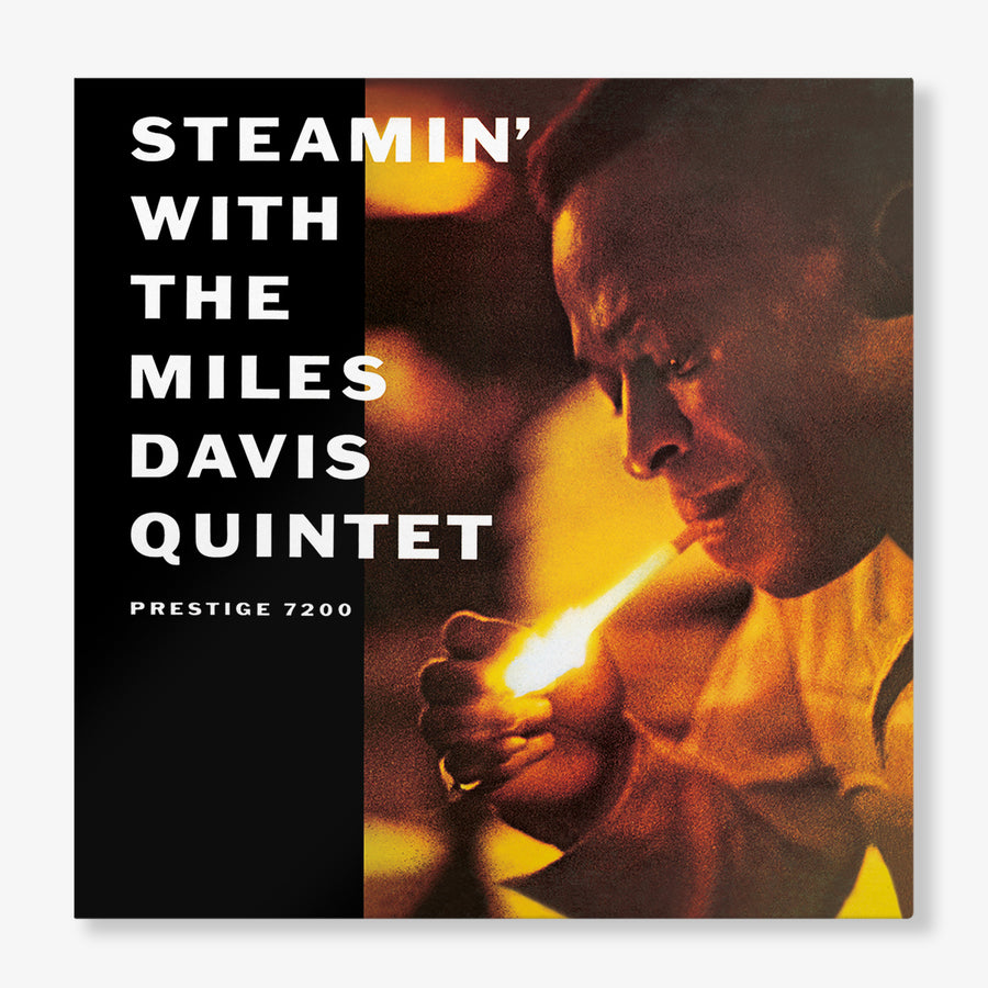 The Miles Davis Quintet - Steamin' With The Miles Davis Quintet (LP)