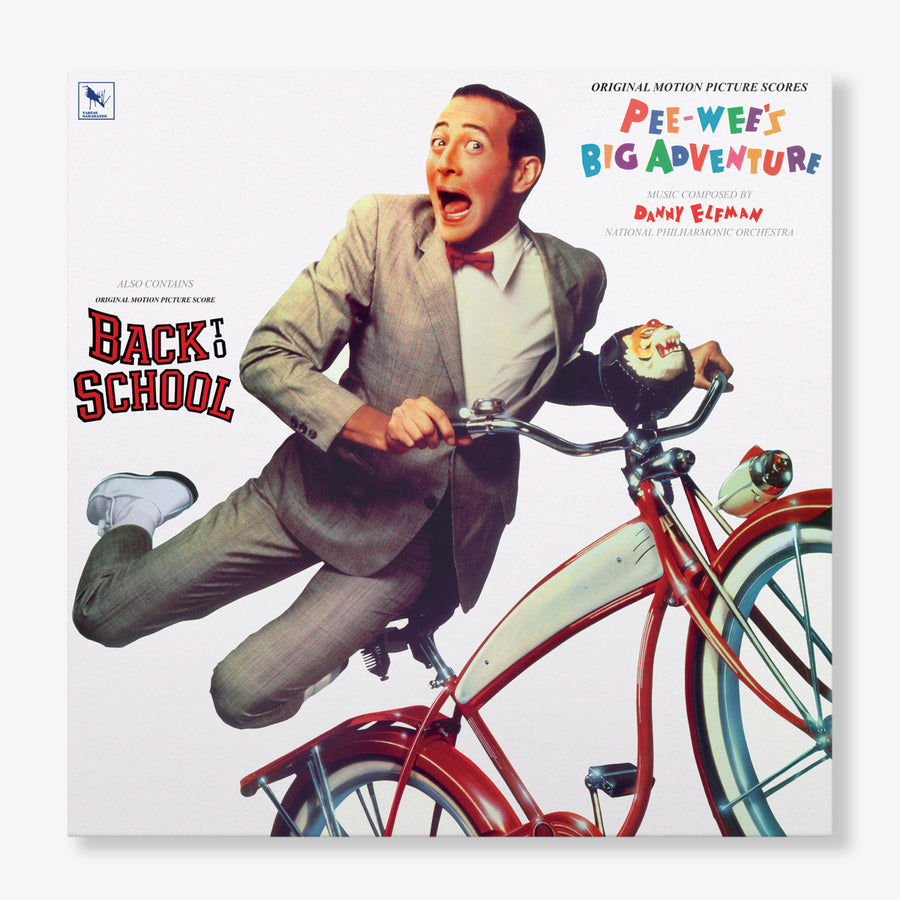 Danny Elfman - Pee-Wee's Big Adventure / Back To School (Red Vinyl)