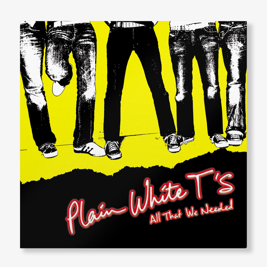 Plain White T's - All That We Needed (Red Opaque LP)