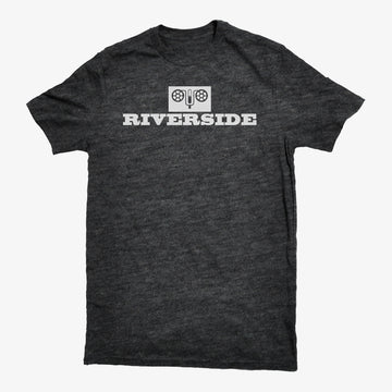 Riverside Records Dark Grey Heather T-Shirt