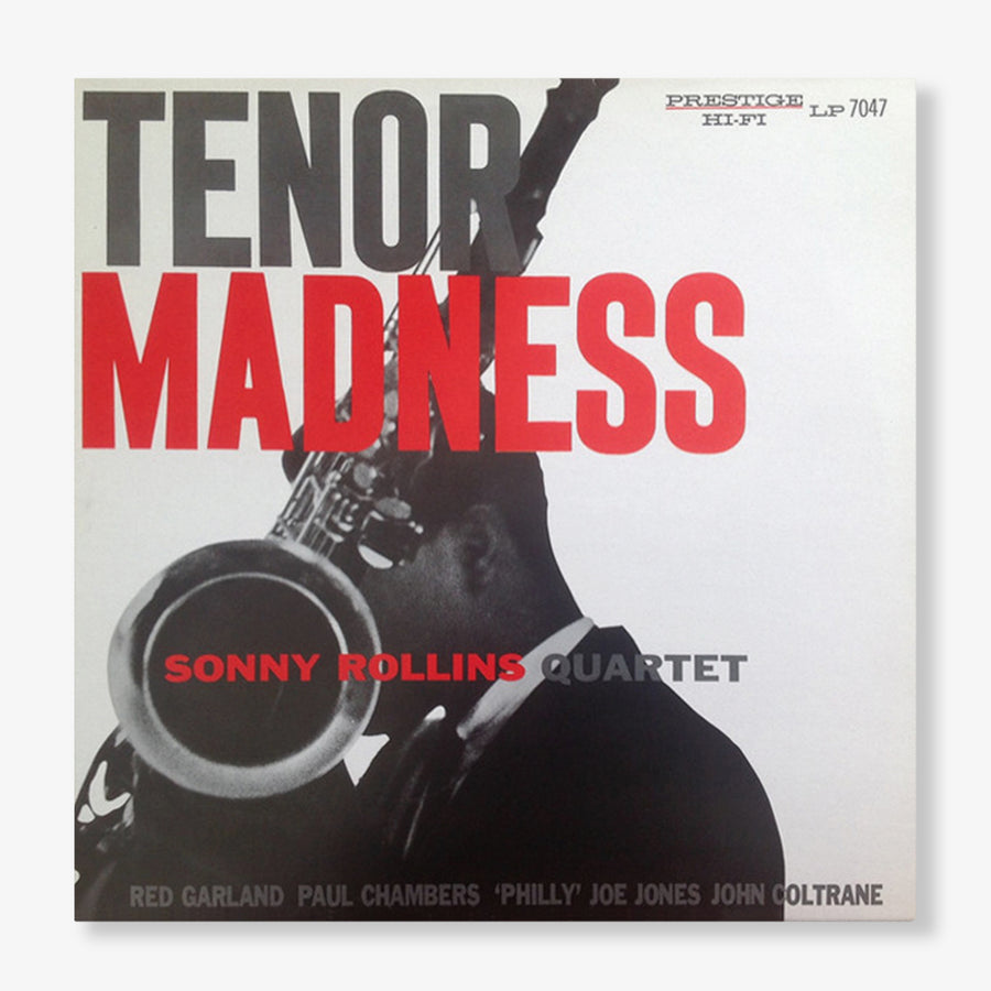 The Sonny Rollins Quartet - Tenor Madness (LP)