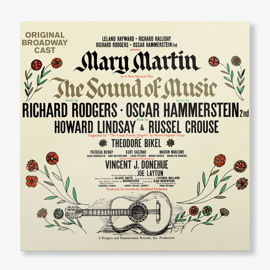 The Sound of Music - Original Broadway Cast Recording (2-LP)