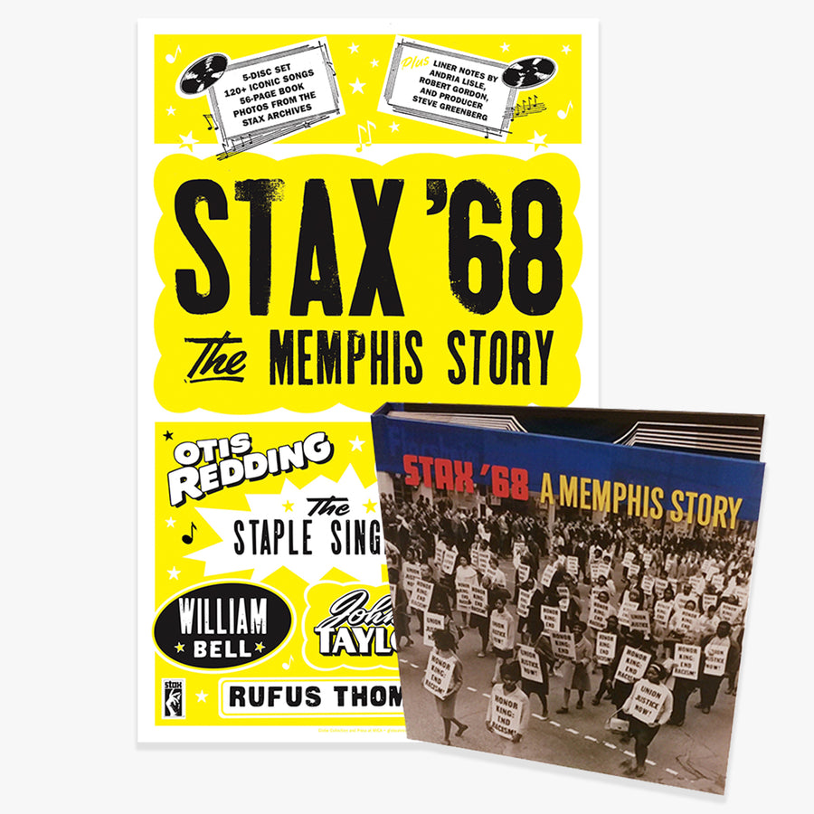 Stax '68: A Memphis Story (5-CD + Exclusive Limited Edition Poster Bundle) [PRE-ORDER]