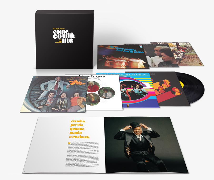 The Staple Singers - Come Go With Me: The Stax Collection (180 Gram 7-LP) + Soul Explosion T-Shirt [PRE-ORDER]