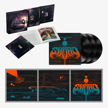 The Sword - Chronology: 2006-2018 & Conquest of Kingdoms with Poster Set (Deluxe Bundle)