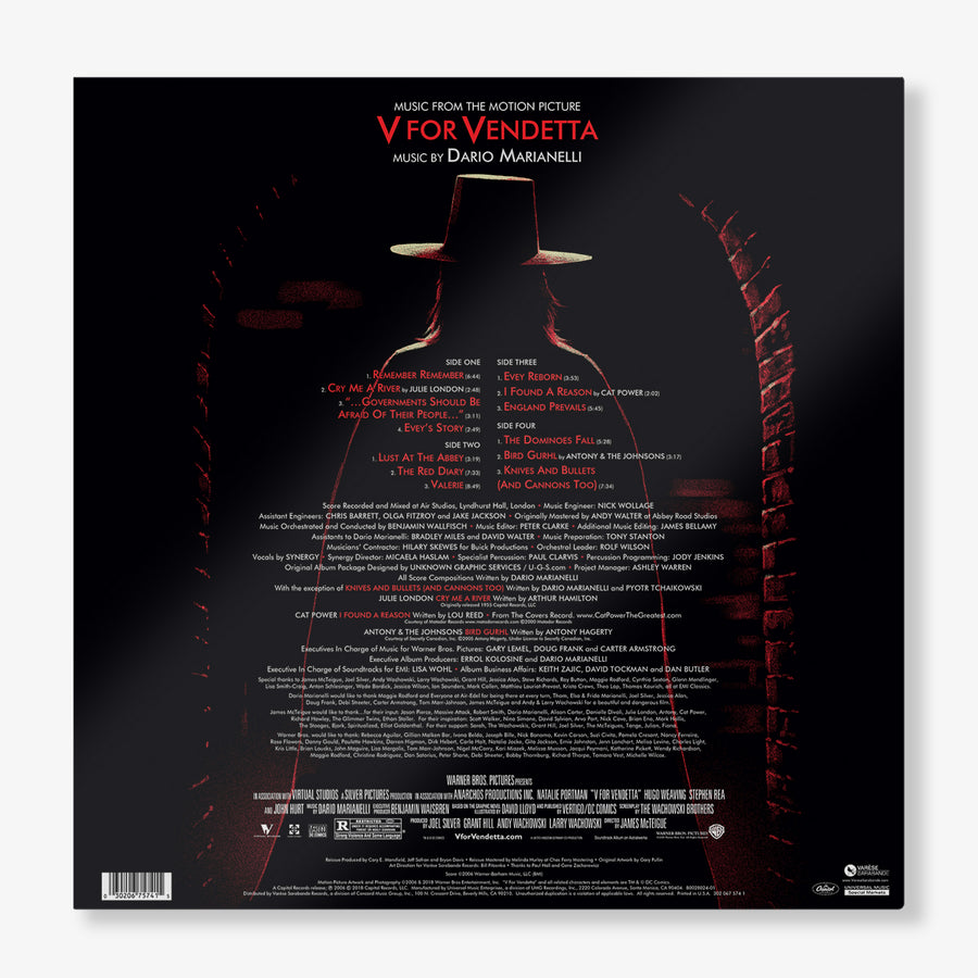 Various Artists & Dario Marianelli - V For Vendetta (Music From The Motion Picture - 2 LP)