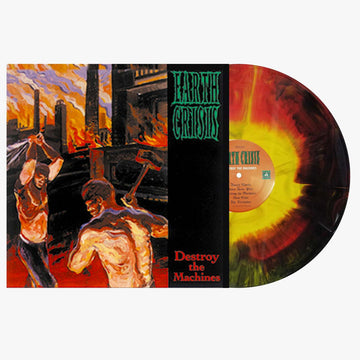 Earth Crisis - Destroy The Machines (Red / Yellow / Black Starburst LP)