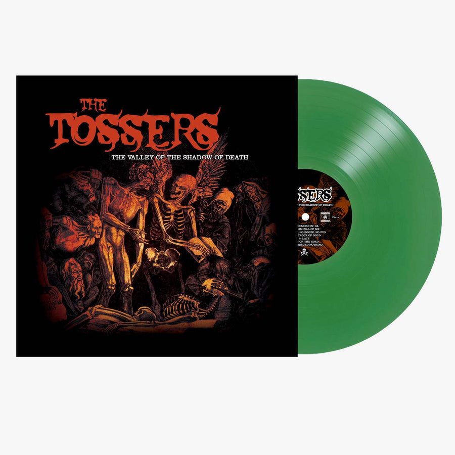 The Tossers ‎– The Valley Of The Shadow Of Death (Green LP)