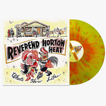 The Reverend Horton Heat ‎- Whole New Life (Splatter LP)