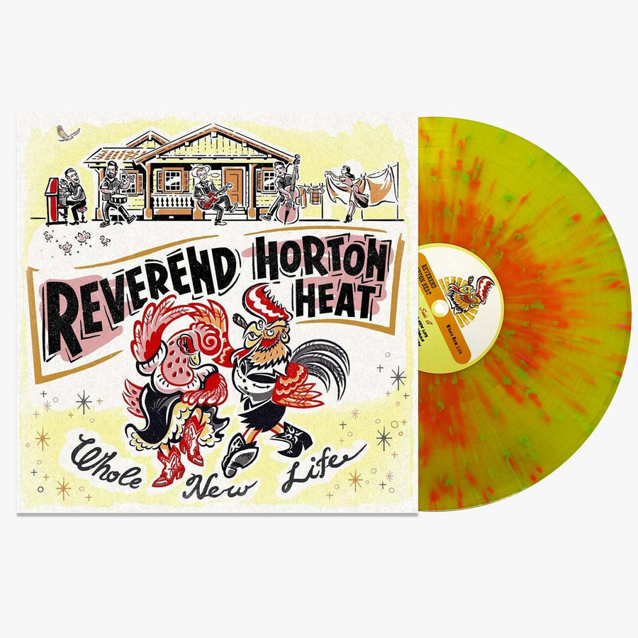 The Reverend Horton Heat ‎– Whole New Life (Splatter LP)