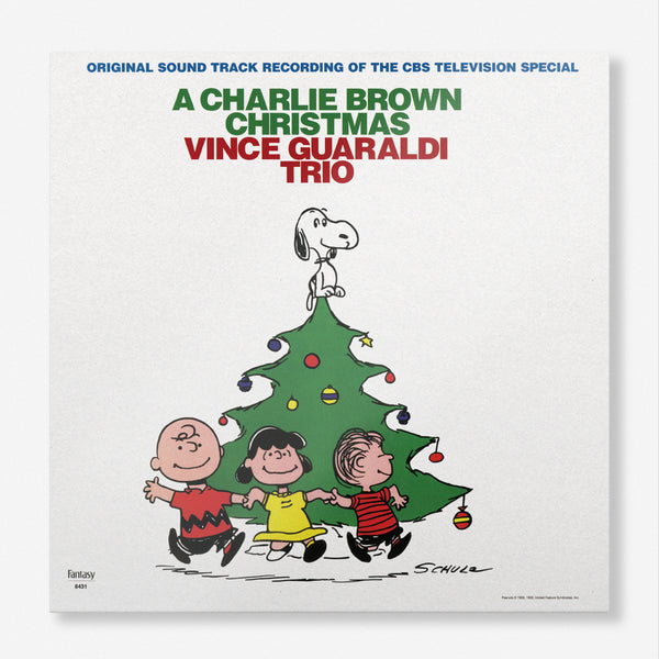 Vince Guaraldi Trio A Charlie Brown Christmas Green Lp