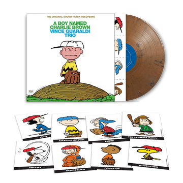 Vince Guaraldi Trio - A Boy Named Charlie Brown (Baseball Mitt Brown LP - Craft Exclusive)