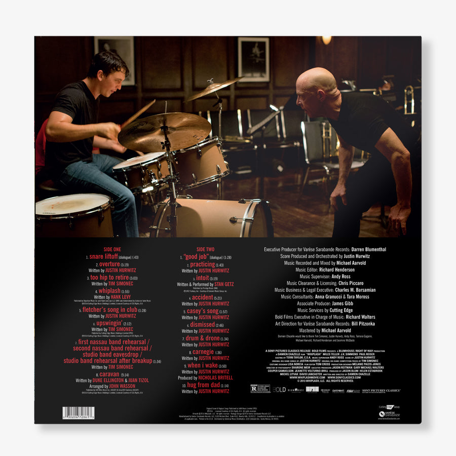 Justin Hurwitz & Tim Simonec - Whiplash (Original Motion Picture Soundtrack - LP)