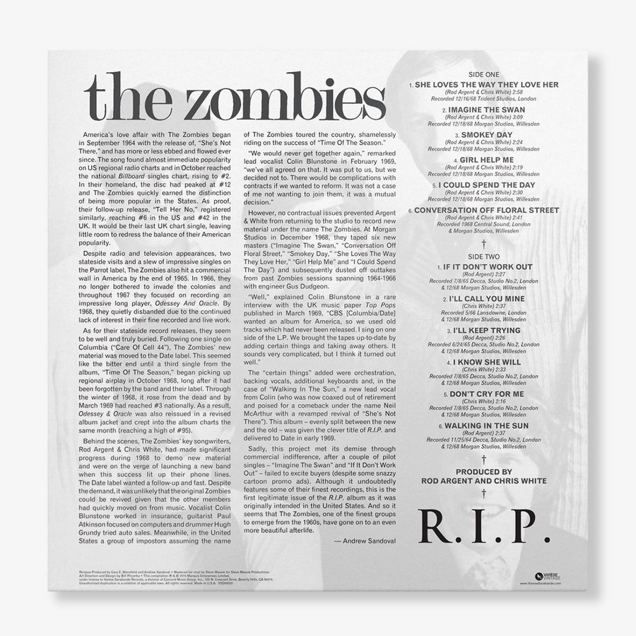 The Zombies - R.I.P. (LP)
