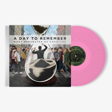 A Day To Remember - What Separates Me from You (Translucent Pink Vinyl)