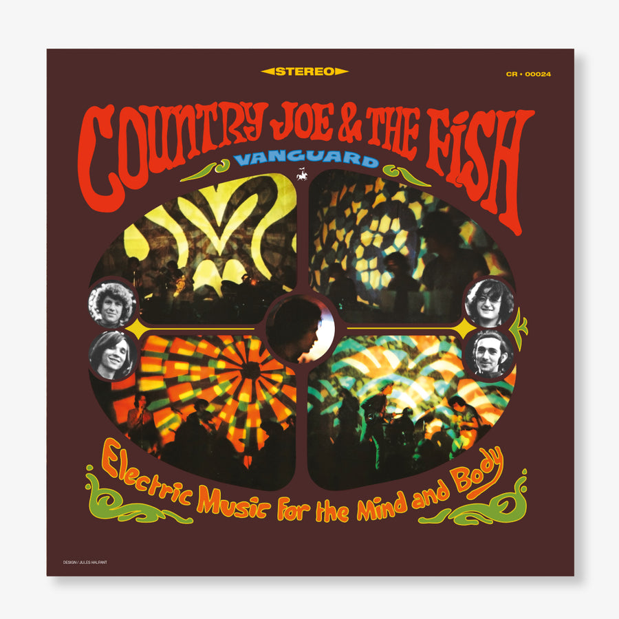 Country Joe & The Fish - Electric Music For The Mind And Body (LP)