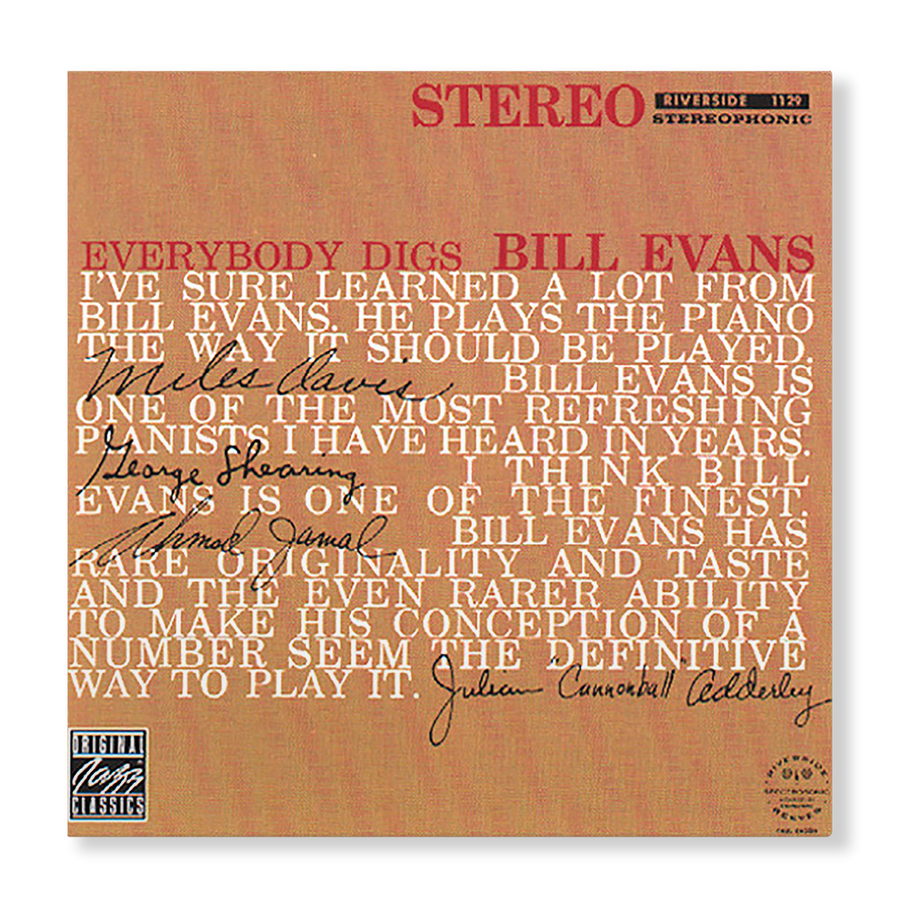 Bill Evans - Everbody Digs Bill Evans (Digital Album)