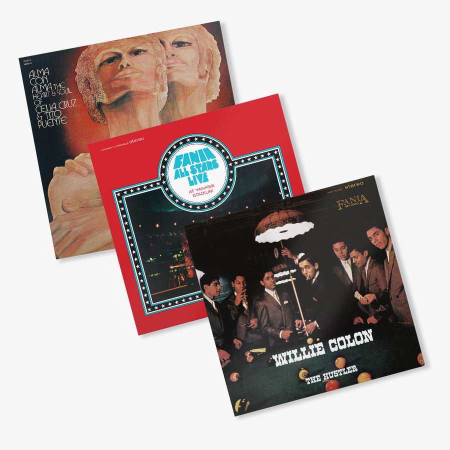 Fania All Stars, Celia Cruz & Tito Puente, Willie Colón - LP Bundle